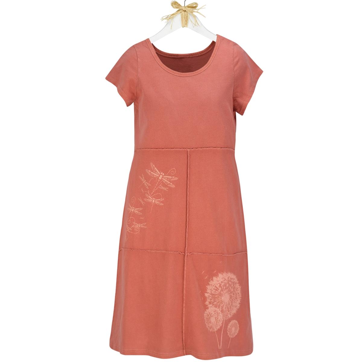 Dandelion and Dragonfly Organic Dress