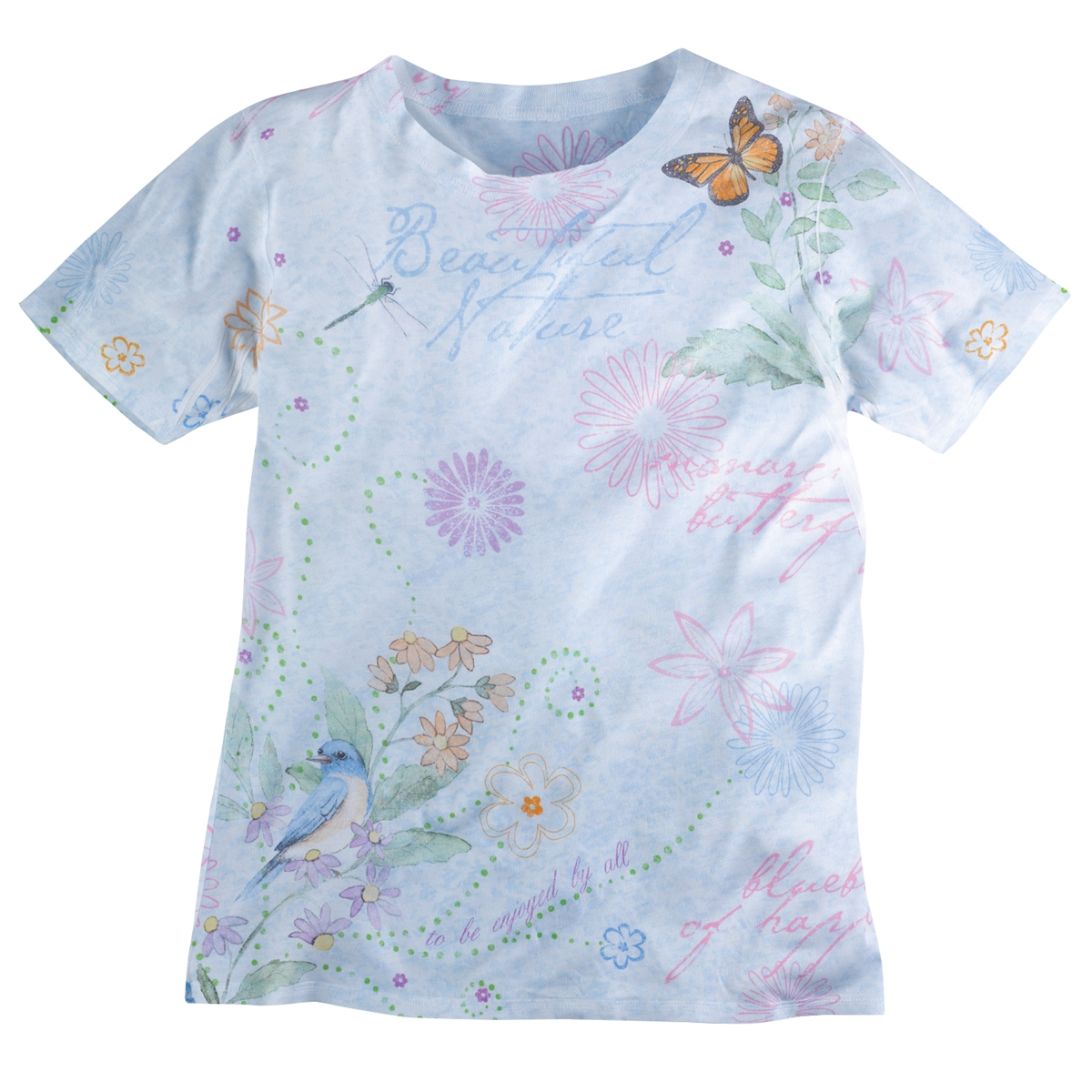 Nature Pastel Sublimation Tee