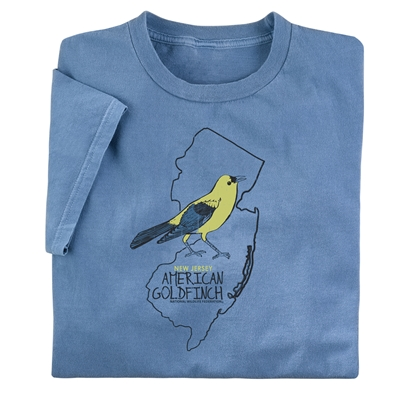 New Jersey American Goldfinch Tee