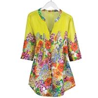 Yellow Wildflower Tunic