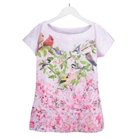 Pink Apple Blossoms Sublimation Tee
