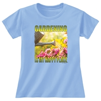Gardening is My Happy Place Tee