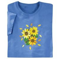 Autumn Sunflower Tee