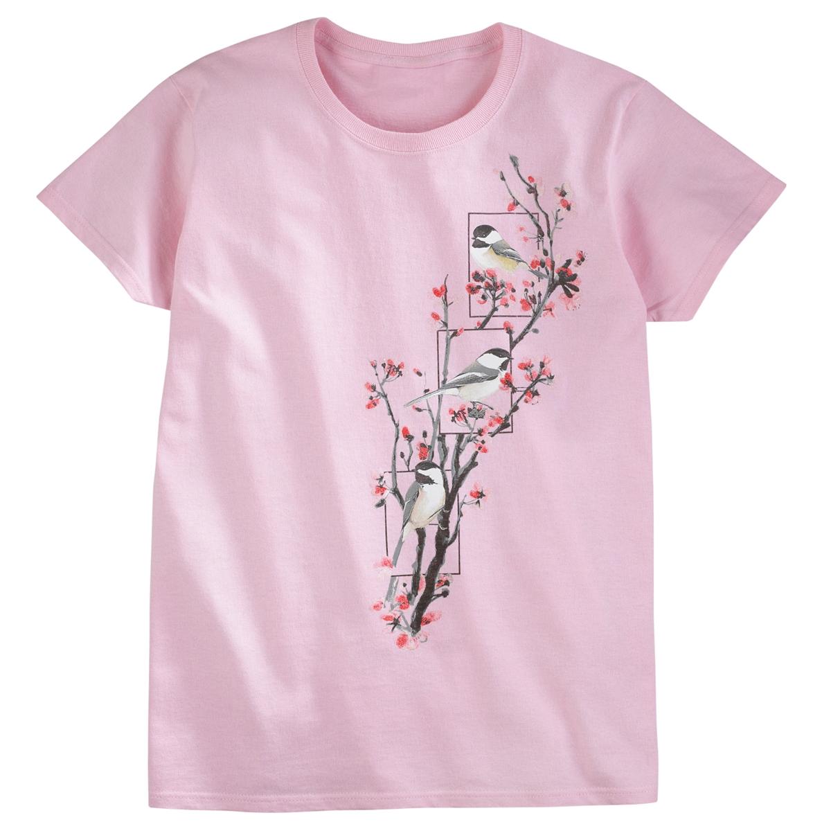 Chickadee Blossom Tee