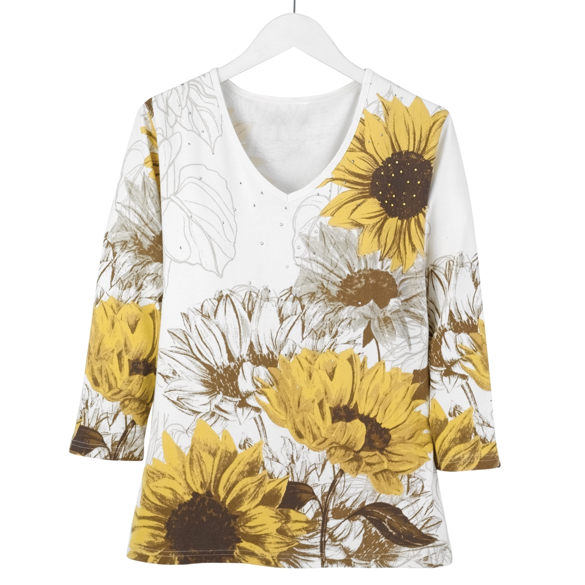 Natural Sunflowers Tee