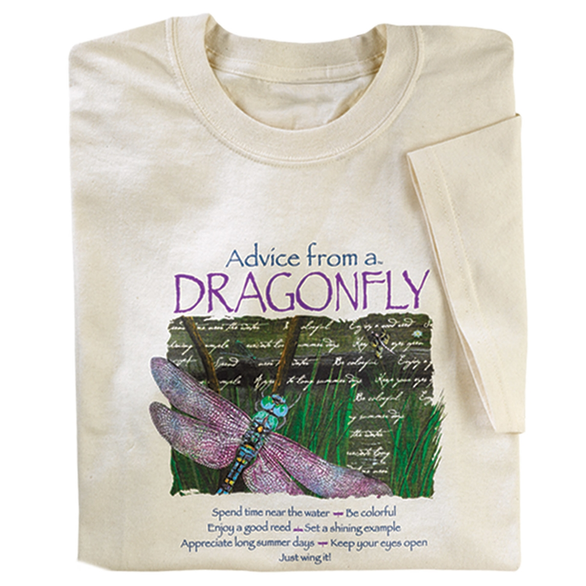 Advice from a Dragonfly Tee