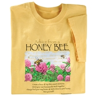 Advice from a Honey Bee Tee