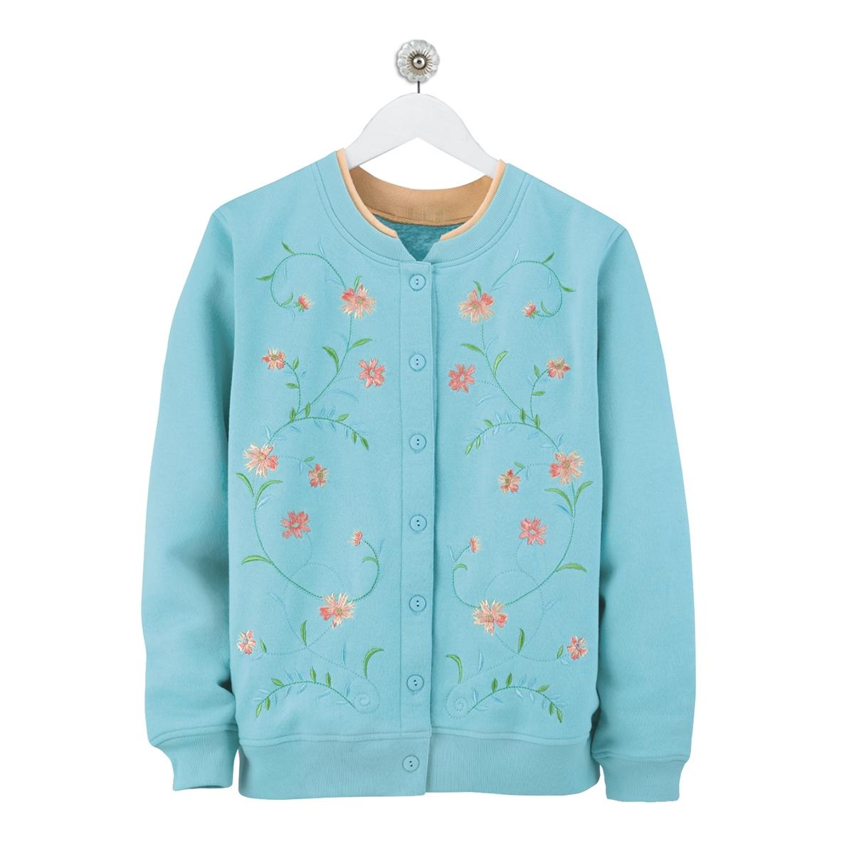 Floral Clusters Cardigan