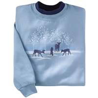 Deer Silhouettes Pullover