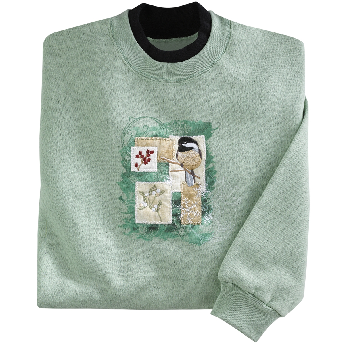 Winter Patches Pullover