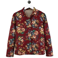 Wildflower Burgundy Jacket