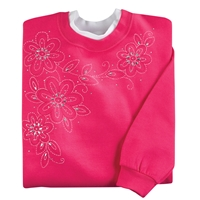 Sparkling Stitchery Pullover