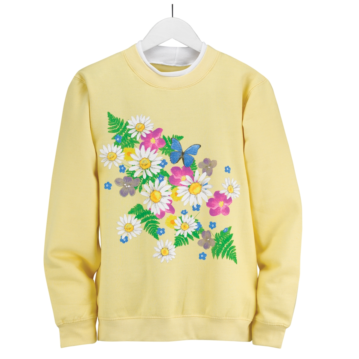 Daisies and More Pullover