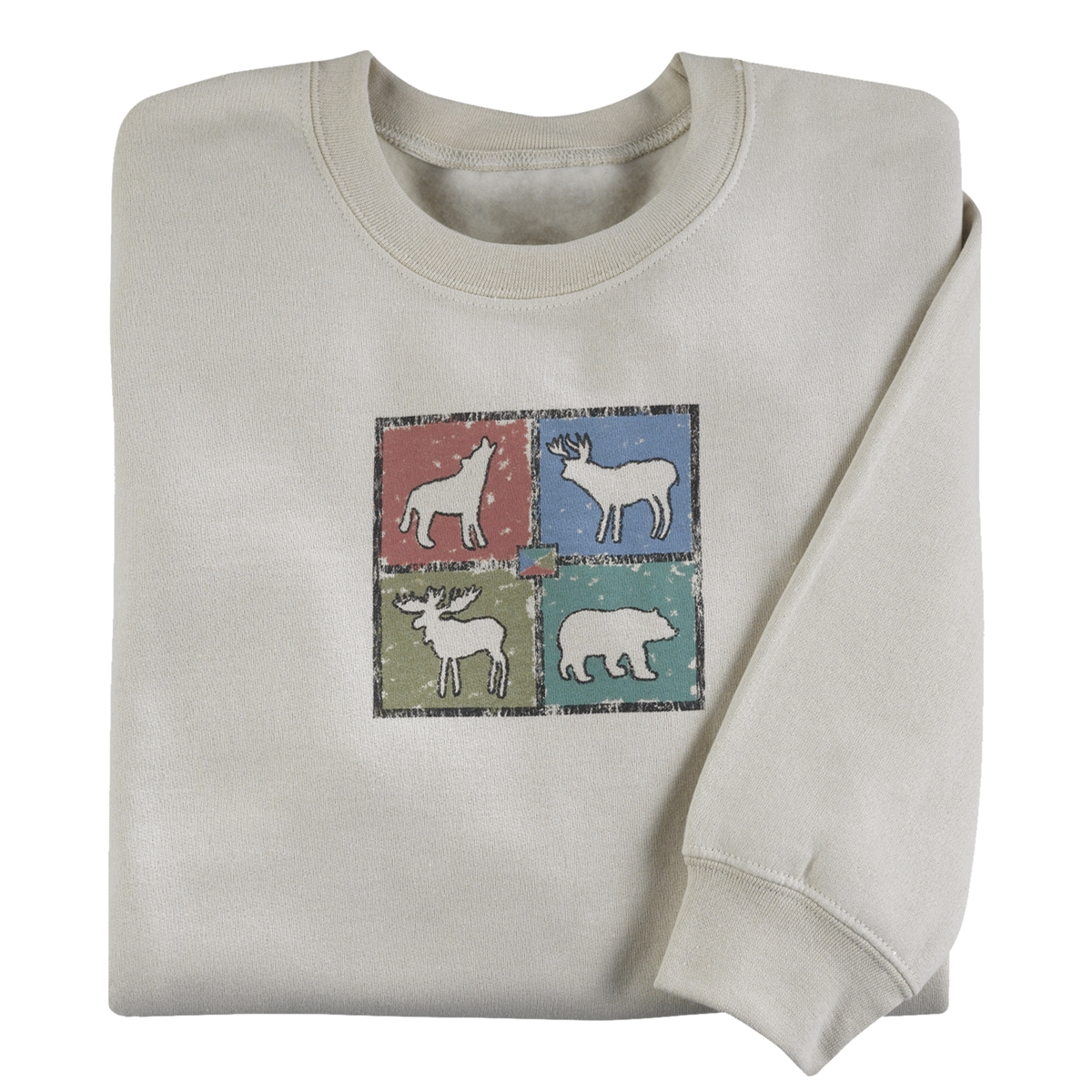 Animal Sketches Pullover
