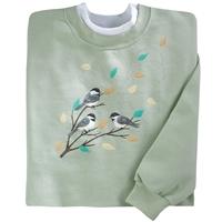 Breezy Birds Pullover