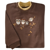 Happy Owlet Pullover