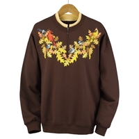 Autumn Birds Pullover