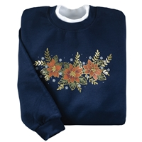 Red Poinsettias Pullover