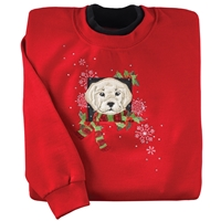 Holiday Golden Lab Pullover