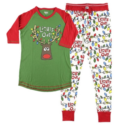 Women's Lights Out PJ Set