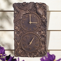 Cardinal Clock / Thermometer