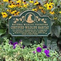 Certified Wildlife Habitat Sign