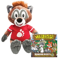 Ranger Rick Cubby Plush & Trail Mix CD