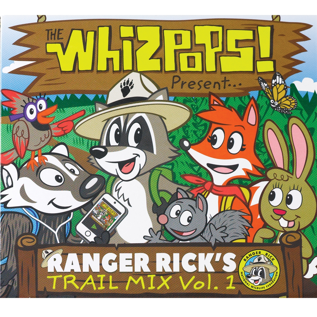 Ranger Rick's Trail Mix CD Vol. 1