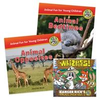 Ranger Rick Jr. Book Collection