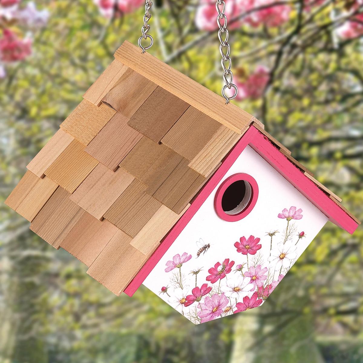 Cosmos Wren Nesting Box