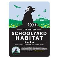 Classic Certified Schoolyard Habitat Sign