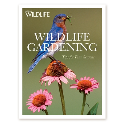 Wildlife Gardening Softcover Book - Tips for Four Seasons