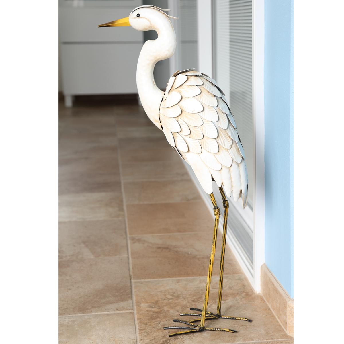 Egret Statue
