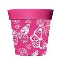 Pink 8 Decorative Pot