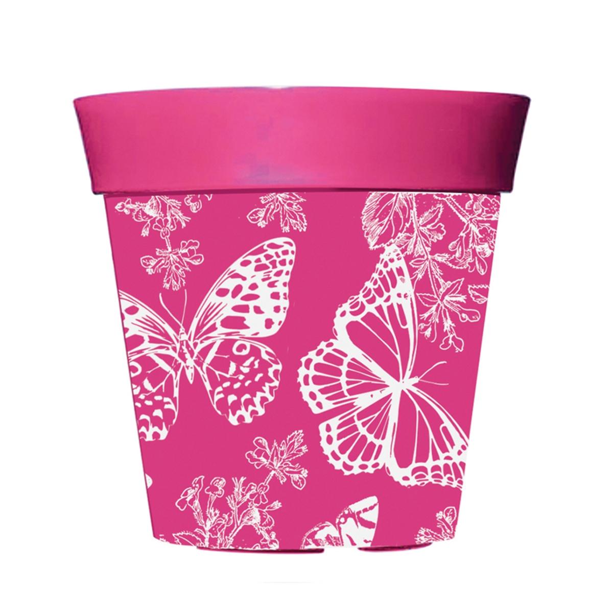 Pink 8 Decorative Pot
