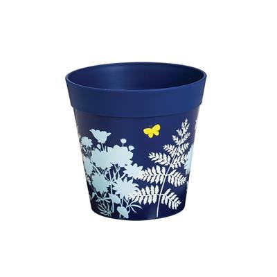 Blue 6 Decorative Pot