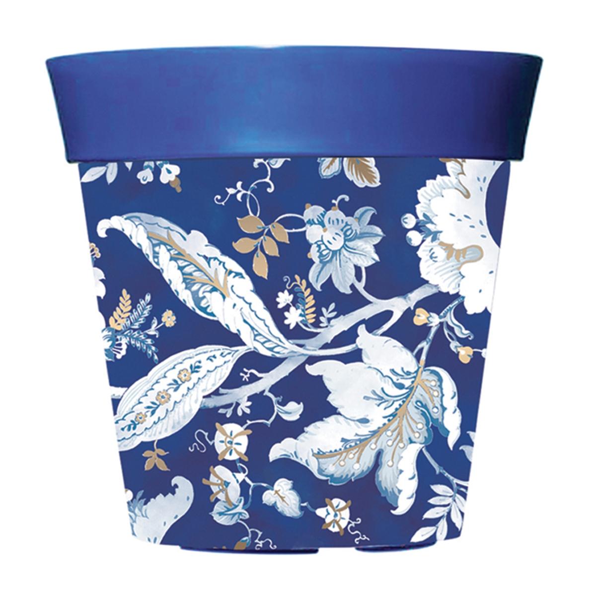 Blue 10 Decorative Pot