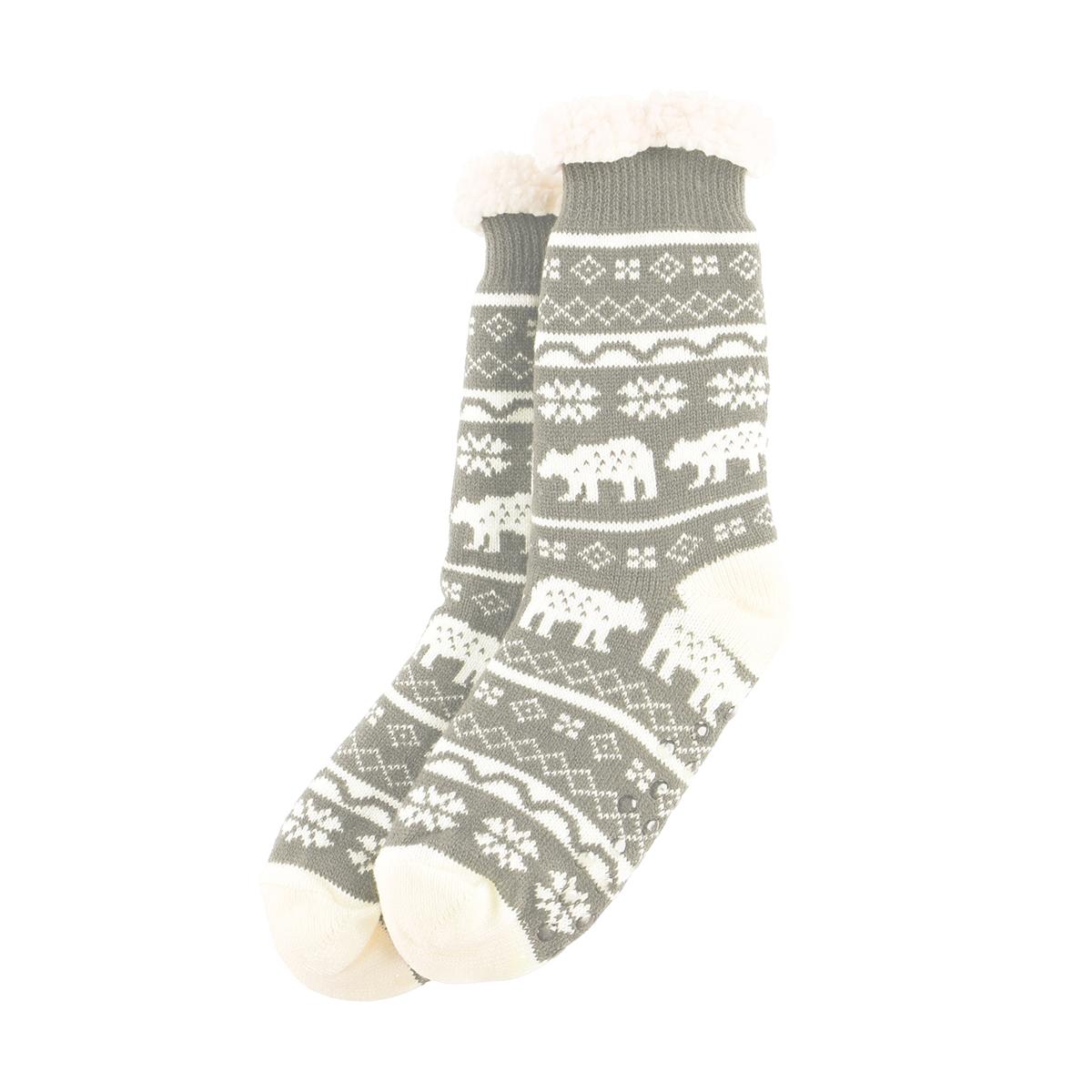 Nordic Bear Socks