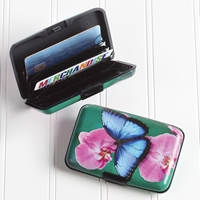 Blue Morpho Butterfly Armored Wallet
