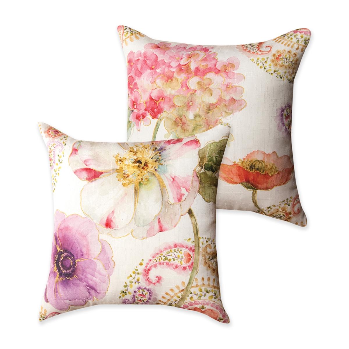 Rainbow Seeds Pillow