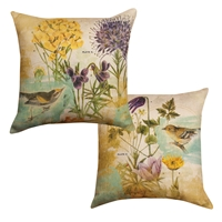 Birds in the Garden Pillow