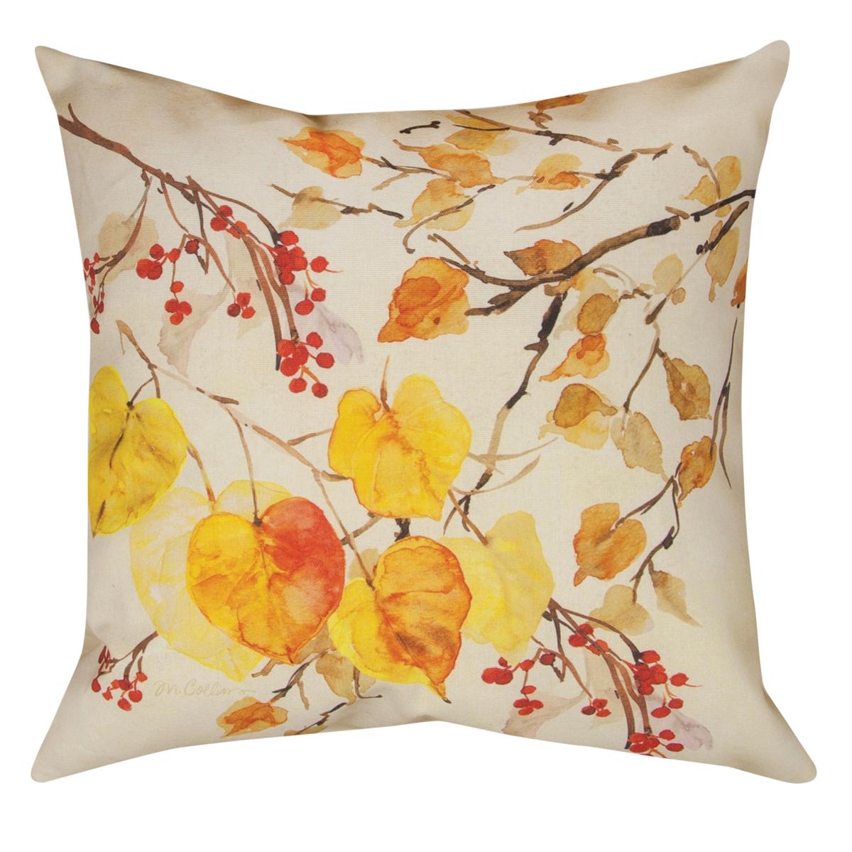 Golden Glory Foliage Pillow