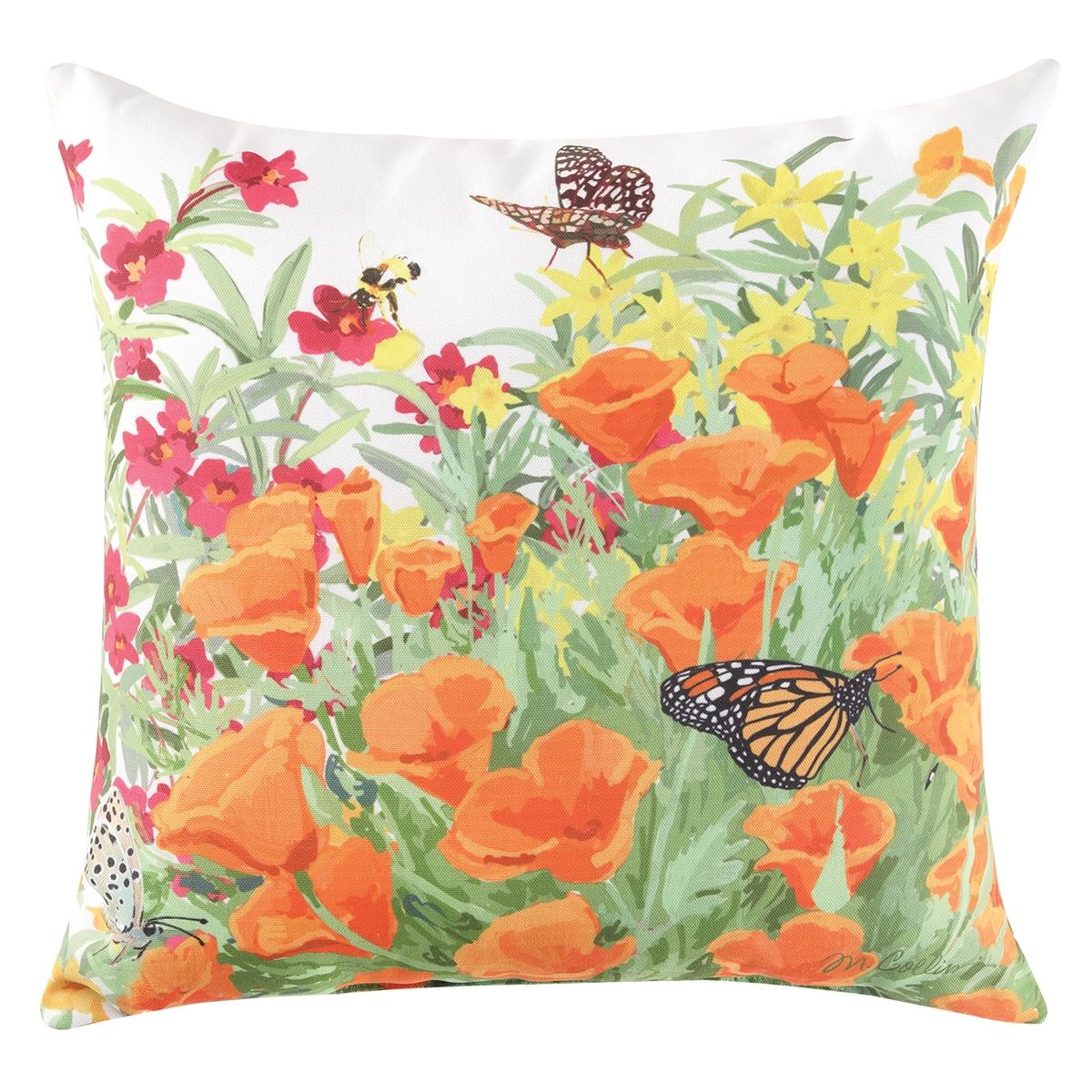 Garden Floral Pillow