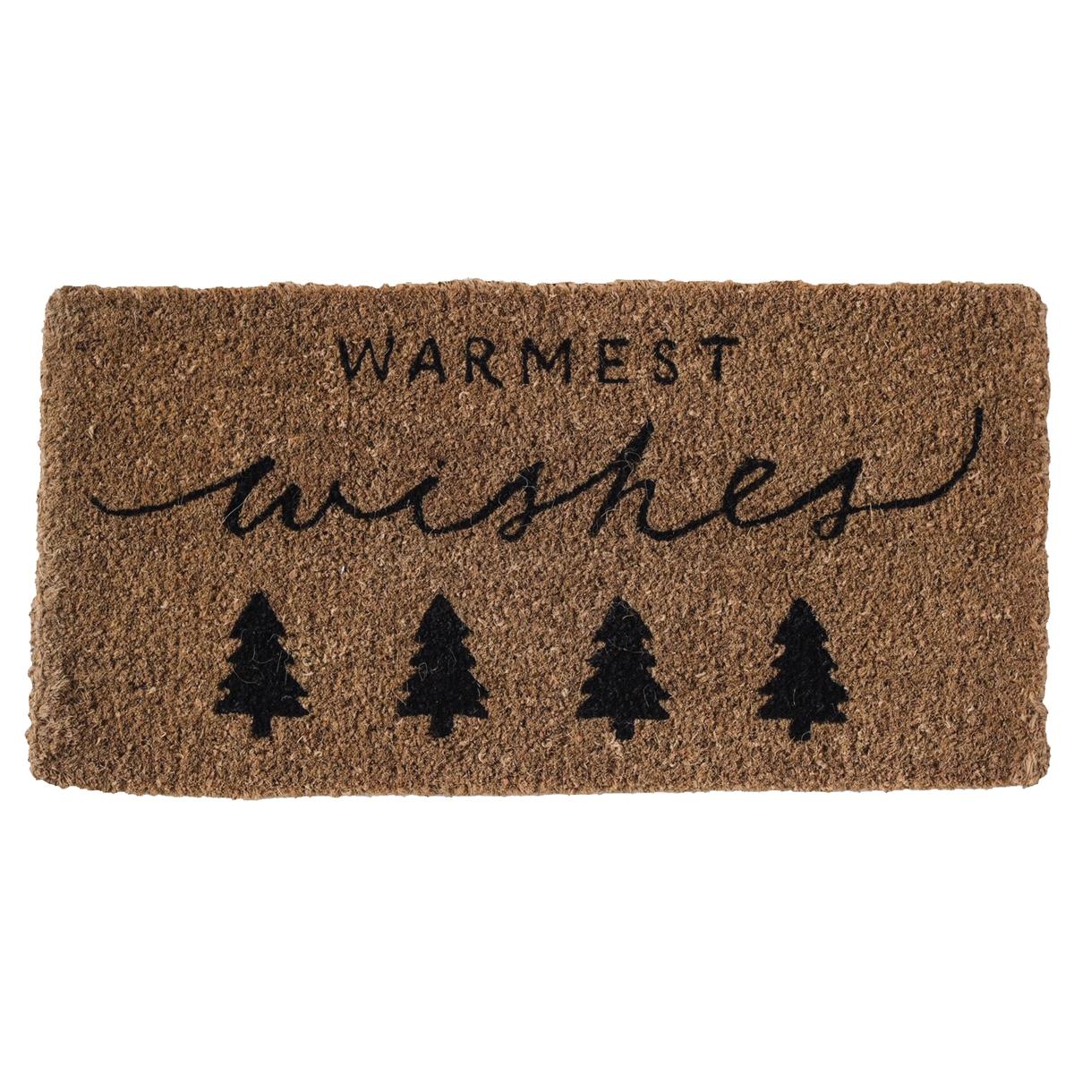 Warmest Wishes Doormat