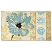 Floral Garden Large Rectangle Rug