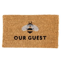 Bee Our Guest Coir Mat