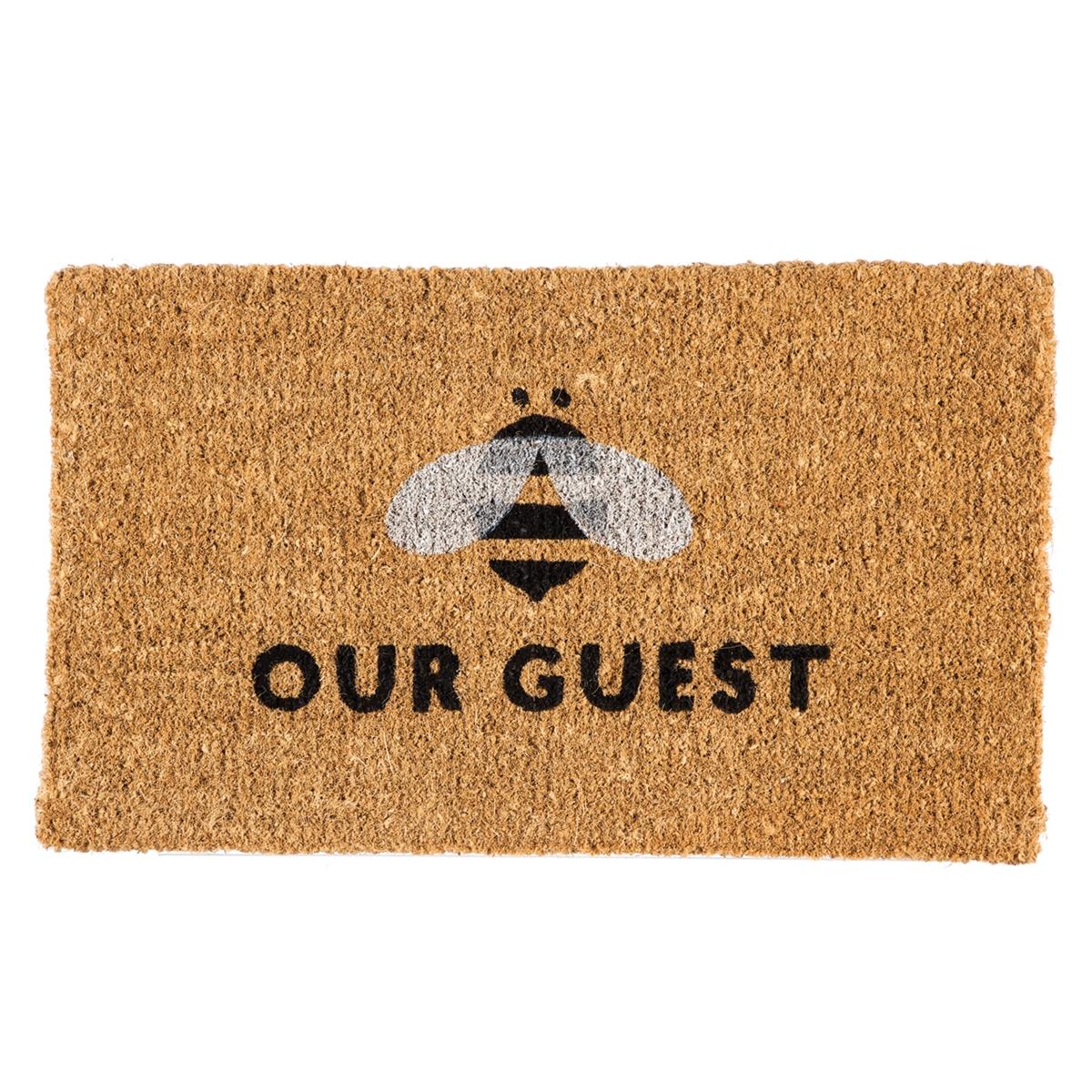 Bee Our Guest Coir Mat