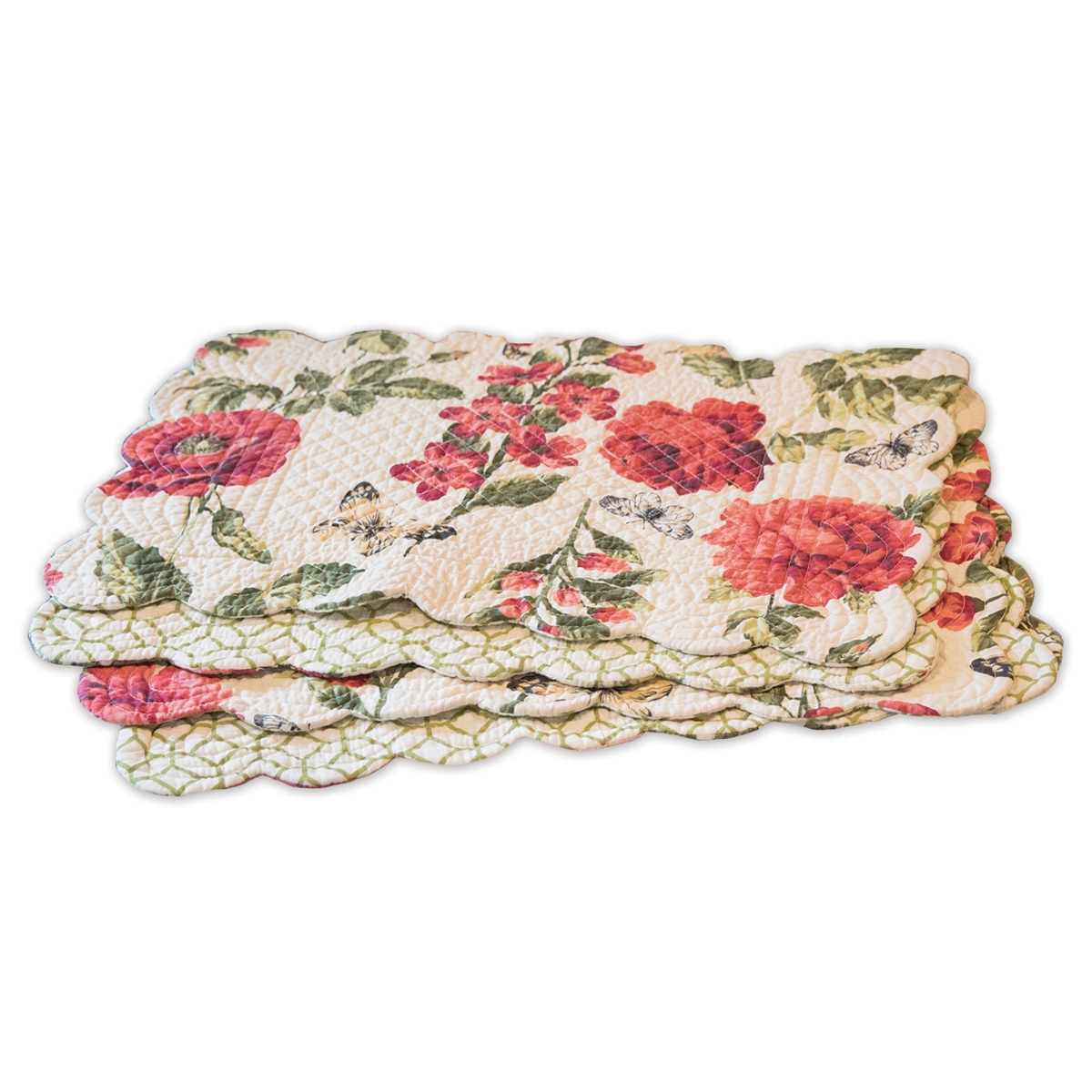 Quilted Kitchen Placemat Set