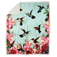 Hummingbird Throw