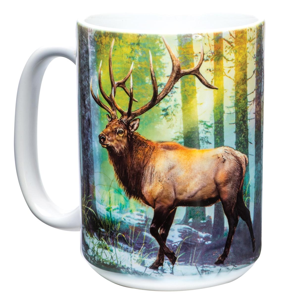 Sunlit Elk Mug